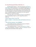 Thủ thuật Windows 7: Phần 7