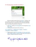Thủ thuật Windows 7: Phần 9