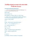 Thủ thuật Windows XP: Ẩn/Hiện nhanh account trên màn hình Wellcome Screen