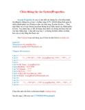 Thủ thuật Windows XP: Chèn thông tin vào SystemProperties