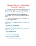 Thủ thuật Windows XP: Hiện nút Hibernate trên hộp thoại Turn Off Computer