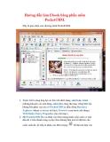 Thủ thuật Windows XP: Hướng dẫn làm Ebook bằng phần mềm PocketCHM