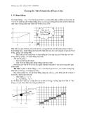 Đồ họa máy tính - Chương 3:  Một số thuật toán đồ họa cơ bản