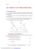Bài giảng Kỹ thuật nhiệt - Chương 3