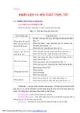 Bài giảng Lý thuyết động cơ đốt trong - Chương 3