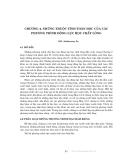 Động lực học chất lỏng tính toán - Chương 4