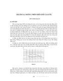 Động lực học chất lỏng tính toán - Chương 6