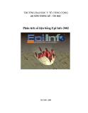 Phân tích số liệu bằng Epi Info 2002 - Mở đầu