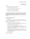 Phân tích số liệu bằng Epi Info 2002 - Phần 1