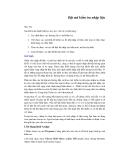 Phân tích số liệu bằng Epi Info 2002 - Phần 2