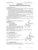 Giáo trình kỹ thuật xung - Chương 3