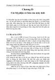 Giáo trình kiến trúc máy tính I - Chương 2