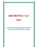 Đề tài: Kế toán tiền lương và các khoản trích theo lương tại HTXTM và DV Thuận Thành