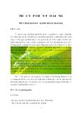 THỰC TẬP CHỌN TẠO GIỐNG Bài 3: Đánh giá tính trạng hình thái cây khoai lang