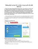 Những dịch vụ lưu trữ và chia sẻ trực tuyến tốt nhất hiện nay
