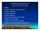Địa chất dầu khí ( petroleum geology ) - Chương 1