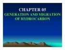 Địa chất dầu khí ( petroleum geology ) - Chương  5