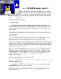 Giáo trình hệ điều hành - Bài 15