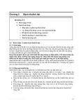 Kỹ thuật mạch tương tự - Chương 2