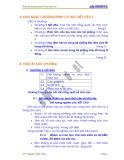 Cơ học kết cấu I - Chương 0