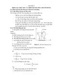 Động lực học máy xây dựng - Chương 8
