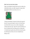 Đón Noel cho máy tính của bạn