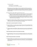 Giáo trình phân tích khả năng nhận diện hệ thống tài sản cố định trong báo cáo lưu chuyển tiền tệ p6