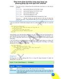 Giáo trình phân tích khả năng ứng dụng các phương pháp lập trình ajax trên autocad p1
