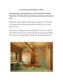 Lưu ý khi trang trí nhà (Phần 3) – Đồ đạc