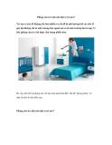 Phòng cho trẻ nhỏ nên đặt vị trí nào?