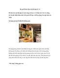 Bí quyết làm rộng căn bếp hẹp (P. 2)