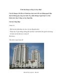 Ở căn hộ chung cư tầng cao hay thấp?