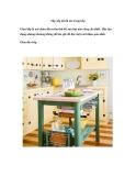Sắp xếp đồ tối ưu trong bếp