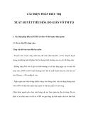 CÁC BIỆN PHÁP ĐIỀU TRỊ XUẤT HUYẾT TIÊU HÓA DO GIÃN VỠ TM TQ