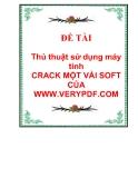 Thủ thuật sử dụng máy tính: CRACK MỘT VÀI SOFT CỦA WWW.VERYPDF.COM