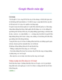 Thủ thuật sử dụng máy tính: Google Hacks toàn tập