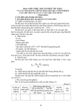 Hướng dẫn thí nghiệm vật liệu xây dựng - Bài 6