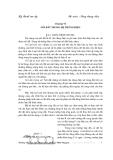 Kỹ thuật cao áp - Chương số 6