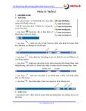 Tài liệu hướng dẫn sử dụng phần mềm MasterCam X - Phần II