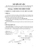 Giáo trình sức bền vật liệu - Chương 1