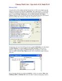 Visual Basic 6 - Chương 15