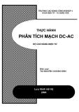 PHÂN TÍCH MẠCH DC-AC HỆ CAO ĐẲNG ĐIỆN TỬ -ThS NGUYỄN CHƯƠNG ĐỈNH