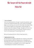 Sơ lược về từ học và vật liệu từ