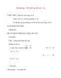 Giáo án lớp 1 môn Toán: Tên Bài Dạy : ÔN TẬP Các Số Từ 0 đến 10