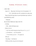 Giáo án lớp 1 môn Toán: Tên Bài Dạy : ÔN TẬP Các Số từ 1 đến 10 (tiết 2)