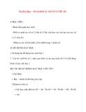 Giáo án lớp 1 môn Toán: Tên Bài Dạy : SO SÁNH CÁC SỐ CÓ 2 CHỮ SỐ