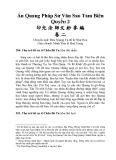 Ấn Quang Pháp Sư Văn Sao Tam Biên, quyển 2 - Phần 1