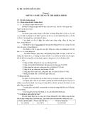 ĐẠI CƯƠNG VỀ GIÁO DỤC TRẺ KHIẾM THÍNH Phần 2