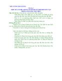 ĐÁNH GIÁ TRẺ KHUYẾT TẬT TRONG GIÁO DỤC ĐẶC BIỆT Phần 2
