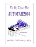 Vẽ kỹ thuật với AutoCad 2004 - Chương 1